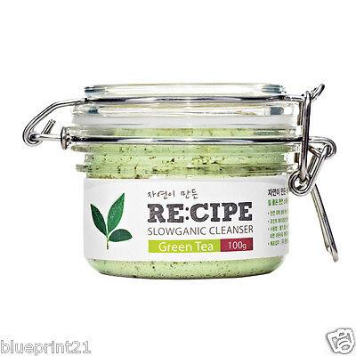 Recipe  Slowganic Cleanser Green Tea 100g Brand New Free Shipping