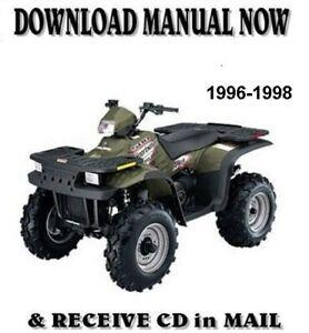 1996 Polaris Xplorer 400 500 Factory Repair Shop Service Manual On Cd Ebay