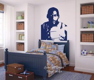 Image Is Loading Michael Jordan Basketball Wall Sticker Sport Super Star