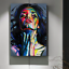Colorful Woman Abstract Canvas Painting Printing Poster Pictures Wall Art