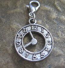 Uhr charms Anhänger Bettelanhänger charm Bettelarmband neu Pendant Clock new