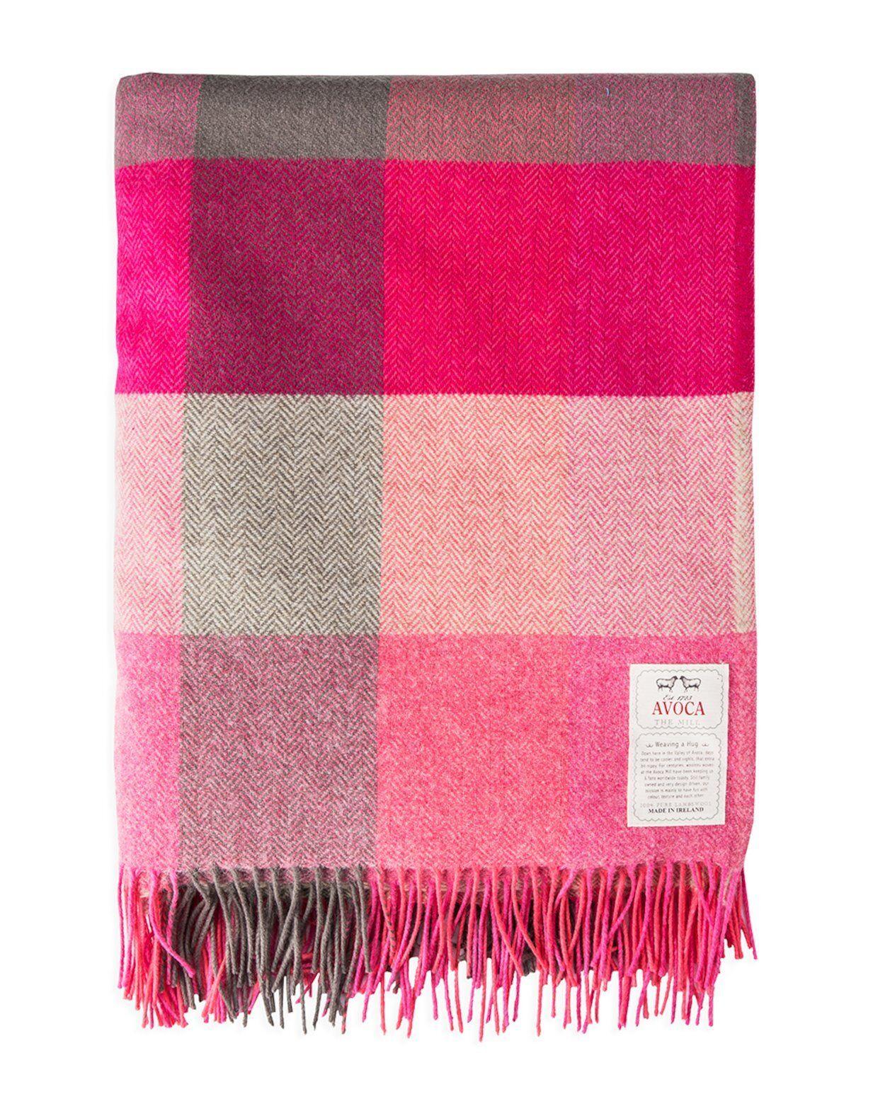100% pure laine jeter par Avoca (Design  Rose des Champs) - Made in Ireland