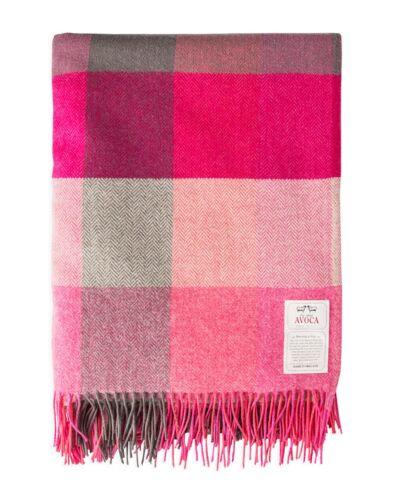 Design: Rose des Champs 100/% pure laine jeter par Avoca Made in Ireland