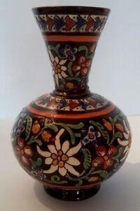 Bonito-Pequeno-Jarron-de-Ceramica-Thun-Esmaltes-Polychromos-Principios-Siglo-Xx