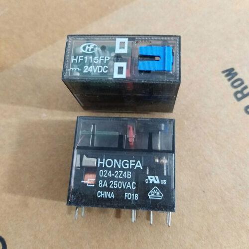 HONGFA HF115FP-024-2Z4B Power Relay 24VDC 8Pin 8A 250VAC