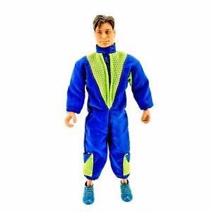Max-Steel-Action-Man-Figure-In-Suit-Trainers-Full-Size-1998-Mattel-Toy
