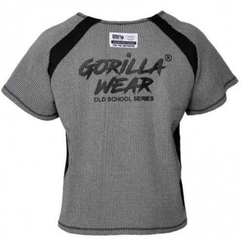Gorilla Wear Augustine Old School Entraînement Top Homme Bodybuilding Fitness T-Shirt