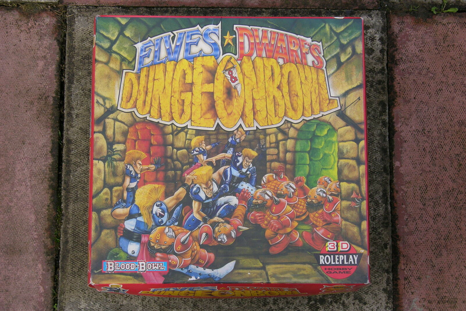 BLOOD BOWL,DUNGEONBOWL,   BOXED GAME   1989   PLUS EXTRA's