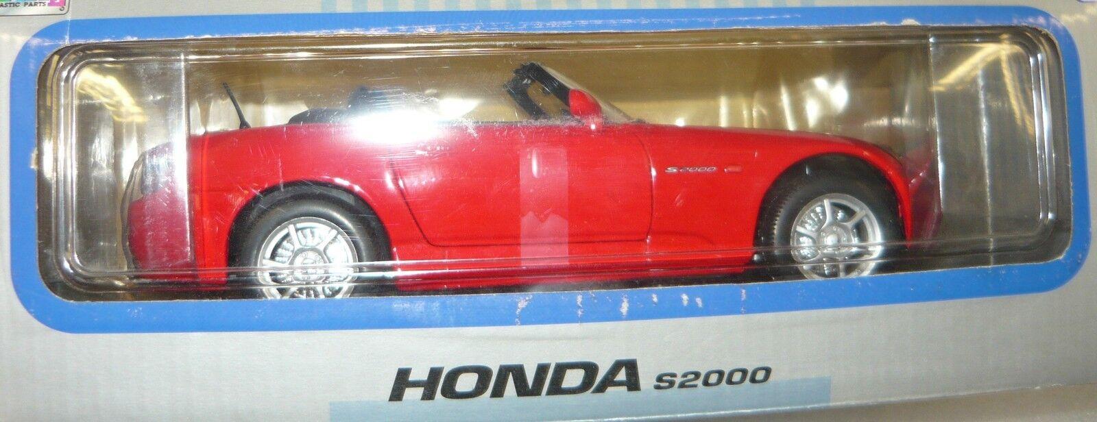 Welly 9845W, Honda Honda Honda S2000, Cabrio, red, 1 18, NEU&OVP 0a5516