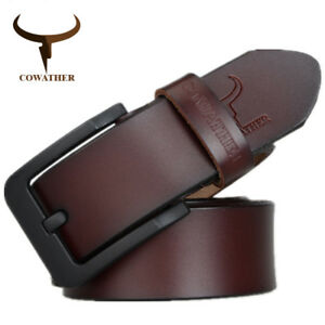 BELT-FOR-MENS-HIGH-QUALITY-GENUINE-LEATHER-BELTS-STRAP-FASHION-JEAN-BUCKLE-XF010