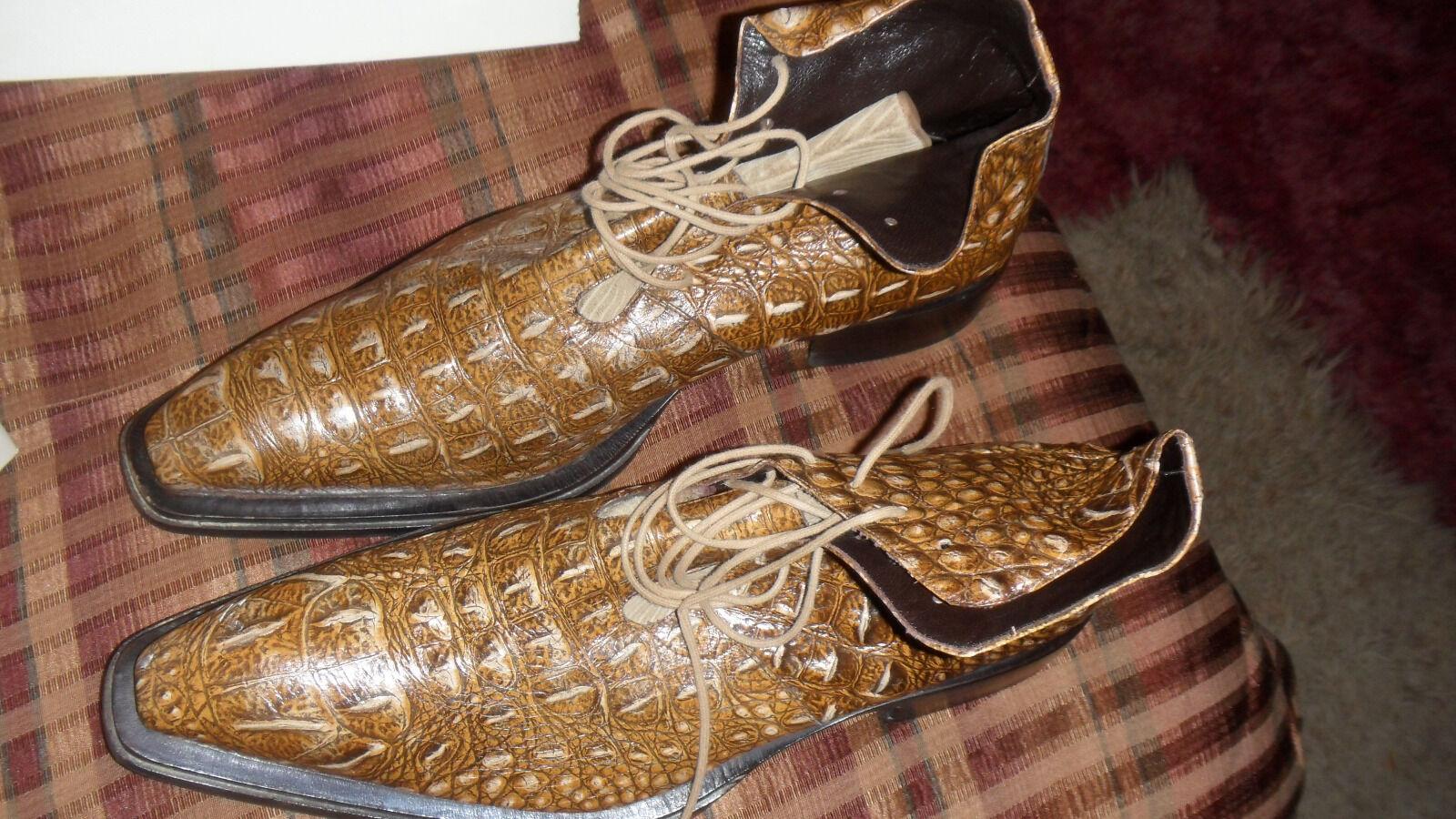 moda classica Mens Mens Mens Real Snake Dimensione 13 Leather scarpe  prima qualità ai consumatori