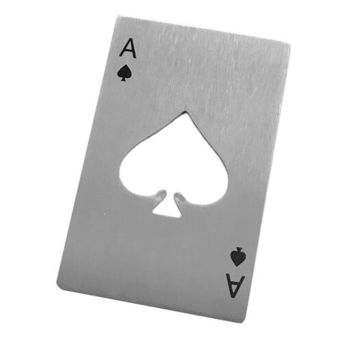 30 Stück Edelstahl Poker Flaschenöffner für Home Bar Kitchen Casino Tools