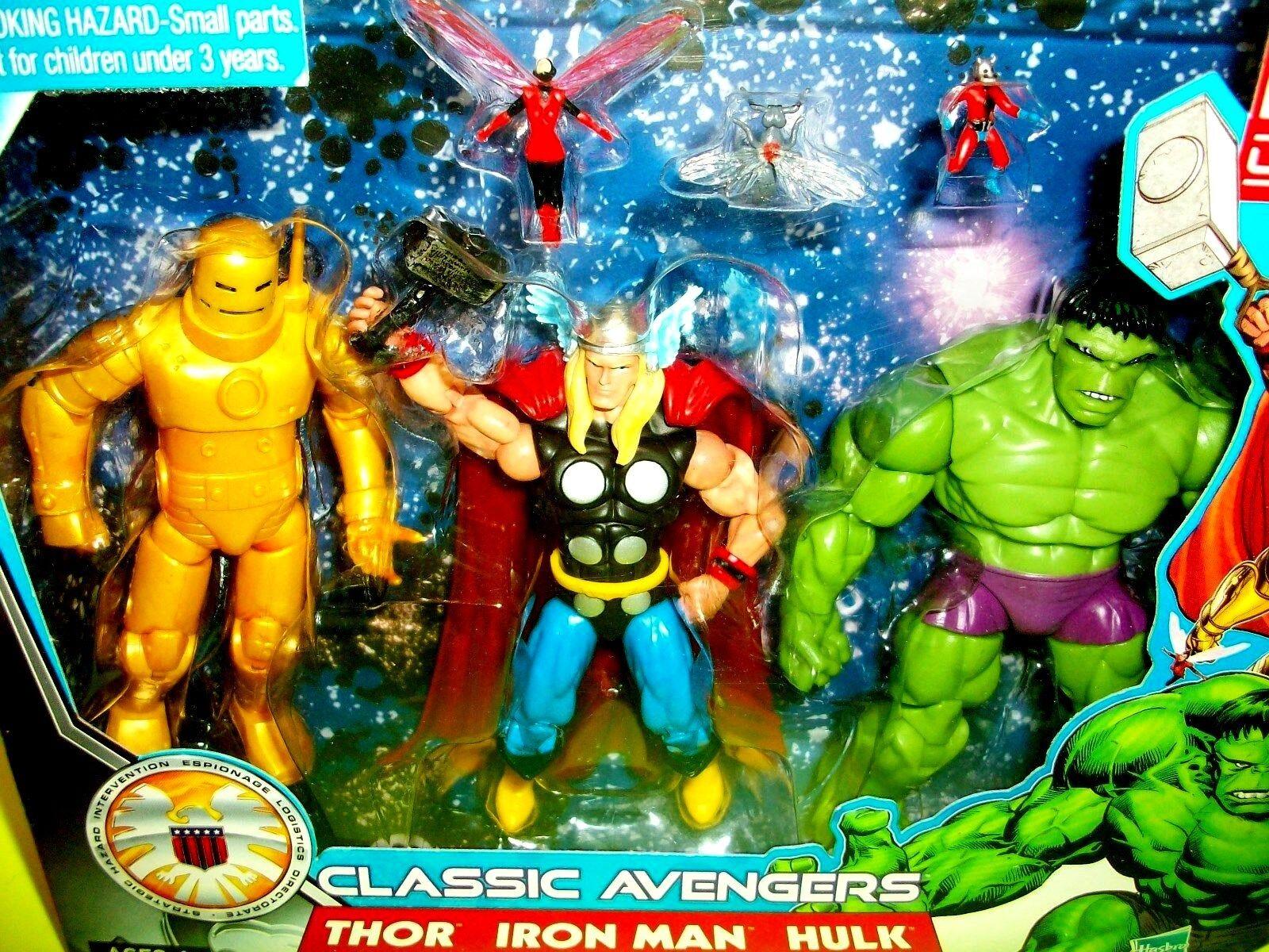 marvel - comics - universum ameise mann wespe hulk thor iron - man - action - figuren