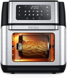 Innsky Friggitrice ad aria 10 Litri, 10 in 1 Forno LED Touch Screen, Friggitrice
