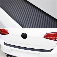 Rear Bumper Protection Carbon Fiber Black Sticker