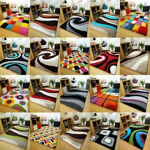 Image Is Loading Small Extra Large Rug New Modern Soft Thick