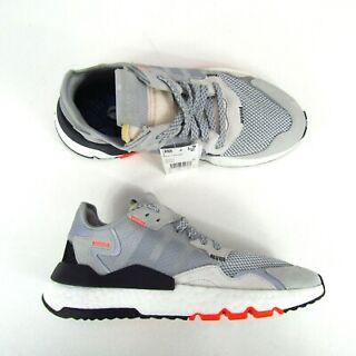 "Men/'s Adidas Nite Jogger /""Grey Orange/"" Athletic Fashion Casual Running DB3361"