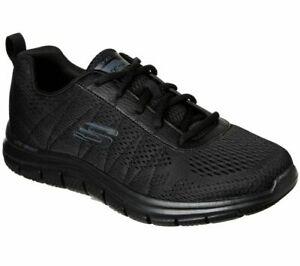 Black-Skechers-Shoes-Men-039-s-Memory-Foam-Mesh-Sport-Comfort-Casual-Athletic-232081