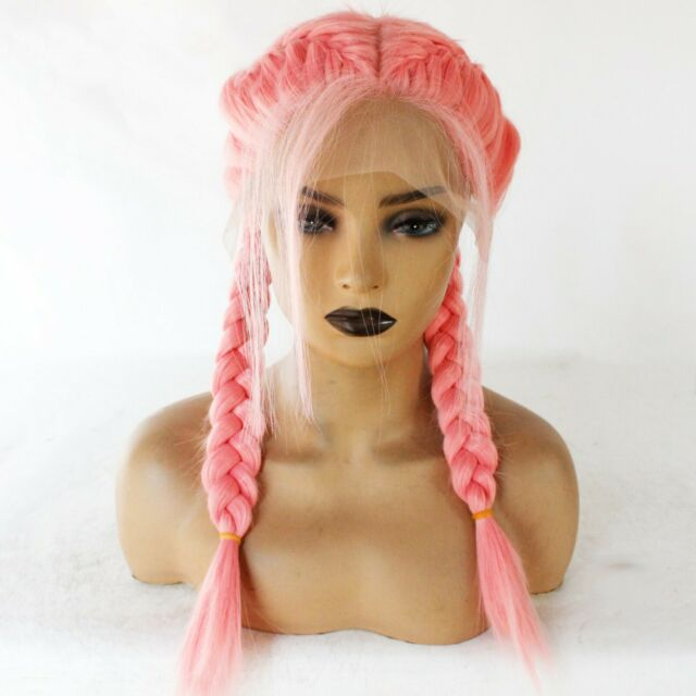 3102307 Goddessey Red Double Braided Wig