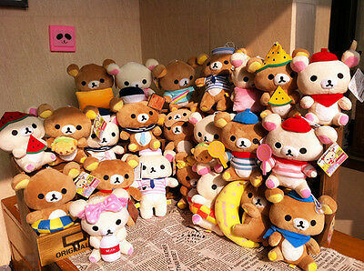 Rilakkuma San-X Cute Plush Car with Suction Cup Doll 7inch 1Pair 20Designs! Gift