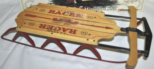 New in Box Flexible Flyer Sled Miniature Snow Sled FREE SHIPPING