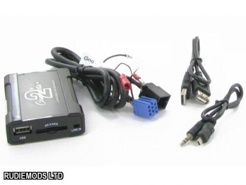 Connects2 ctaskusb001 Usb Aux 3.5 mm Sd Adaptador Skoda Octavia Mk1
