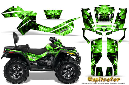 CAN-AM OUTLANDER MAX 500 650 800R GRAPHICS KIT CREATORX DECALS STICKERS RCG