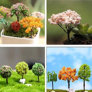 Lovely-Miniature-Sakura-Tree-Plants-Fairy-Garden-Accessories-Dollhouse-Ornaments