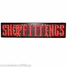 NEW SHOP RUNNING MOVING LED MESSAGE DISPLAY SCROLLING SHOP SIGN