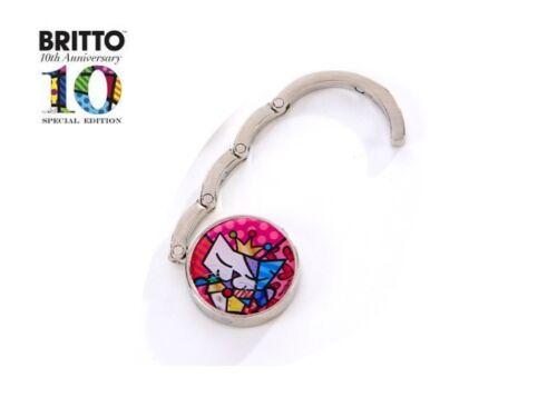 Romero Britto Special Edition Purse Hook ROYAL CAT
