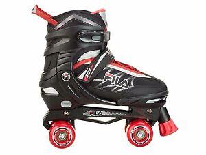 bd19c30d8648 Das Bild wird geladen FILA-Roller-Skates-Jungs-034-Joy-034-verstellbar-