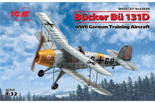 ICM 32030 1//32 Bücker Bü131D