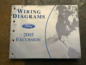 2005 Ford Excursion Wiring Diagrams Electrical Service ...