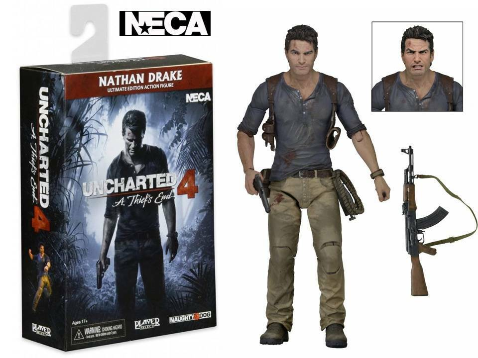 Action-Figur Uncharted 4 Nathan Drake Ultimate edition 17 cm Neca