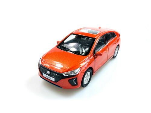 Pino B/&D HYUNDAI IONIQ AE 1:38 Scale Display Mini Car Orange