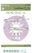 Bestfong Decals 1/144 LOCKHEED P-3C ORION ROCAF LOW VIZ Markings