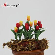 Dollhouse 1:12 Scale miniatures Model garden plant Tulips 09913