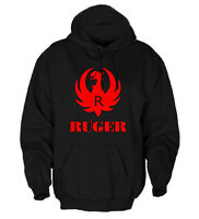 Ruger Logo Gun Rights Hoodie Pullover Sweatshirt G304