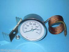 TERMOMETRO FORNO 0°C -350°C TONDO diam.60mm A CAPILLARE *