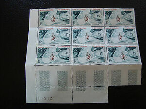 NOUVELLE-CALEDONIE-timbre-yt-aerien-n-67-x9-n-Z2-stamp-new-caledonia