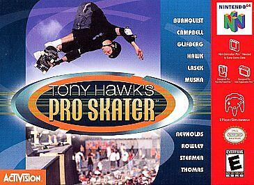 Tony Hawk's Pro Skater (Nintendo 64, 2000) for sale online | eBay