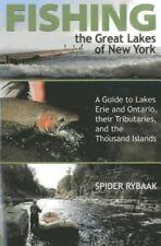 Pesca los Grandes Lagos de Nueva York: una guía para los lagos Erie y Ontario, sus..