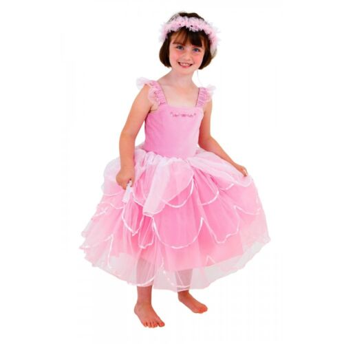 Elite Rose Cendrillon style énorme fée princesse robe 6//8 ans Fée Princesse Royaume-Uni