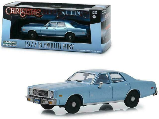 1977 Plymouth Fury Steel Blue (Detective Rudolph Junkins') Christine 2019 new