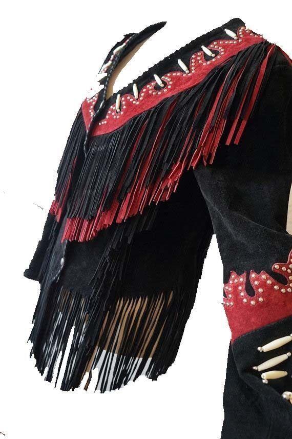 damen Traditional Western Suede Leather Cowboy Fringe Fringe Fringe Native American Beads     Verschiedene Waren    Wunderbar    Online-verkauf    Bequeme Berührung    Maßstab ist der Grundstein, Qualität ist Säulenbalken, Preis ist Leiter  d22535