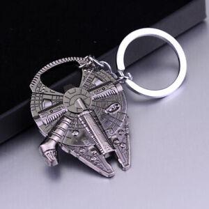 Star-Wars-Millennium-Falcon-Metal-Bottle-Opener-Key-Ring-Keychain-Fashion-Gift