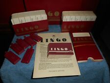 VTG LINGO CARD GAME ADULT SLANG WORDS PARTY GAME 1985 WESTERN PUBLISHING CO