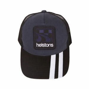 Helstons Shelby Hat Cap - Blue/White