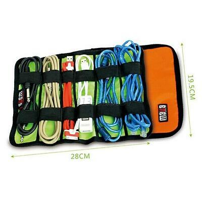 Travel Portable Storage Organizer Bag Case Bag For USB Cable Earphone Power cord