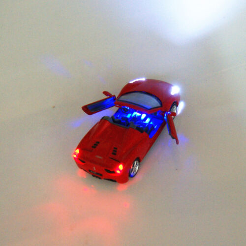 Ferrari 458 Convertible Model Cars 1:32 Toy Car Kids Gifts Alloy Diecast Red New